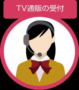 TV通販の受付